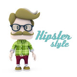 Hipster Style Stock Photography