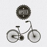 Hipster style classic emblem Stock Images