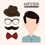 Hipster style Royalty Free Stock Photos