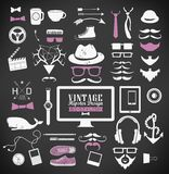 Hipster style elements, icon and object can be Royalty Free Stock Image