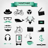 Hipster style elements, icon and object can be Stock Photo