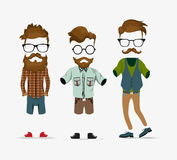 Hipster style elements Royalty Free Stock Photography