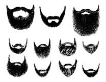 Hipster style and fashion vector set Royalty Free Stock Images
