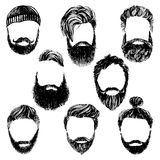 Hipster style and fashion vector set Stock Photos