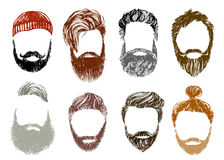 Hipster style and fashion vector set Stock Photography