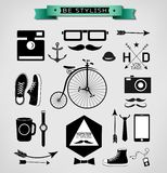 Hipster style Stock Image