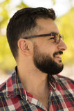 Hipster style man Royalty Free Stock Photo