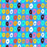 Hipster style multicolor vector pattern Royalty Free Stock Photos