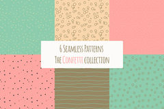 Hipster style patterns Royalty Free Stock Image