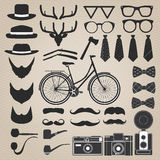 Hipster style set 3 . Vector illustration Stock Photography