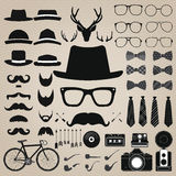 Hipster style set 5 . Vector illustration Stock Photography