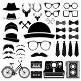 Hipster style set 4 . Vector illustration Royalty Free Stock Image