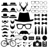 Hipster style set 5 . Vector illustration Stock Image