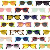 Hipster sunglasses background Royalty Free Stock Image