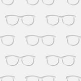 Hipster sunglasses seamless pattern Stock Images