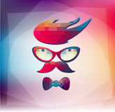 Hipster Symbols Royalty Free Stock Images