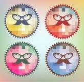 Hipster Symbols Stock Image