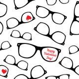 Hipster symbols. Valentine's Day background. Royalty Free Stock Photo