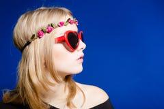 Hipster teenager girl Stock Photo