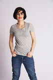 Hipster Tomboy Royalty Free Stock Photography