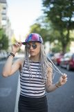 Hipster young woman. Royalty Free Stock Photography