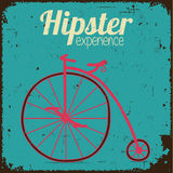 Hipsterfiets Stock Foto's