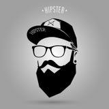 Hipstermanlock Royaltyfri Foto