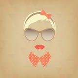 Hipstermeisje Royalty-vrije Stock Afbeelding