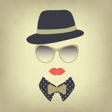 Hipstermeisje. Royalty-vrije Stock Fotografie