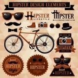 Hipsterreeks Royalty-vrije Stock Foto