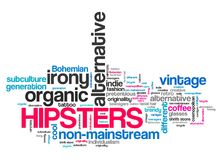 Hipsters Stock Image