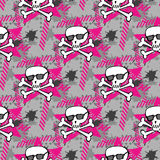 Hipsters or emo seamless pattern Royalty Free Stock Image