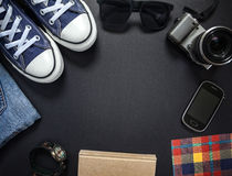 Hipsters outfit Stock Photos