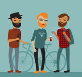 Hipsters Royalty Free Stock Image