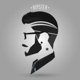 Hipsterstjärnatatuering Arkivfoto