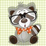 Hipstertvättbjörn stock illustrationer