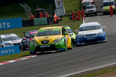 HiQ MSA British Touring Car Championship, Brands H Stock Photos