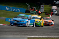 HiQ MSA BTCC - Brands Hatch Royalty Free Stock Image