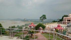 Hirakud. View from neheru minar, sambalpur, India Stock Photos