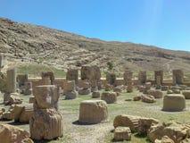 Hiraz, PERSEPOLIS, ИРАН, губит церемониальной столицы персидской империи Achaemenid империи стоковая фотография rf