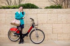 Hire bike Royalty Free Stock Photo