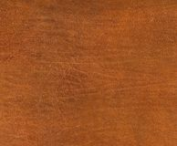 Hires brown leather texture Royalty Free Stock Images