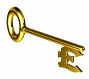 Hires_pound_key Royalty Free Stock Image