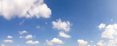 Hires sky panorama Royalty Free Stock Image