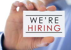 We are hiring Stock Images