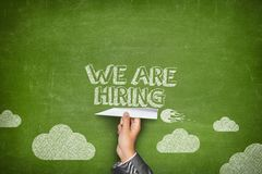 We are hiring concept Royalty Free Stock Photo