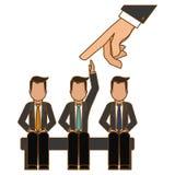 hiring process human resources icon image Royalty Free Stock Photos