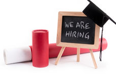 We Are Hiring Stock Image