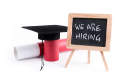 We Are Hiring Stock Photography