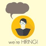 We are hiring Royalty Free Stock Images